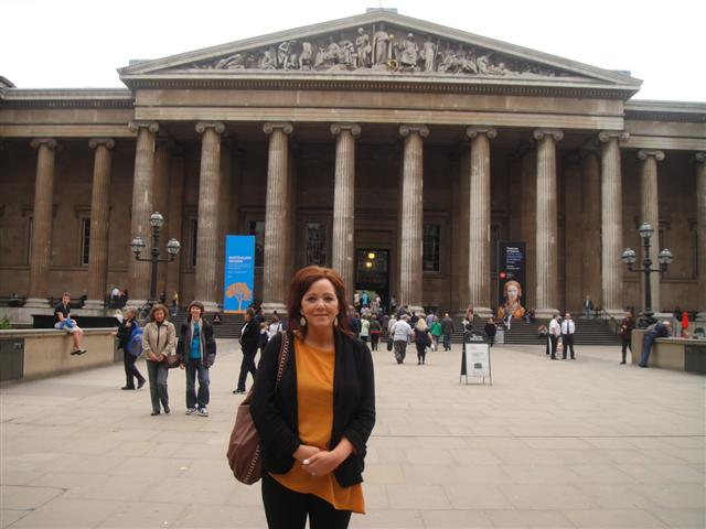 Emma Brown at the British Museum
