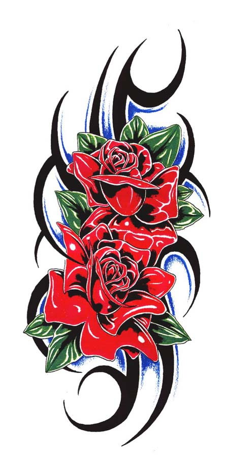 Rose Tattoos Flower: Rose Tattoo Designs