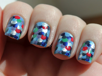 Fish Nail Art - Top 50 Summer Nail Art Ideas! - A Sparkly Life For Me