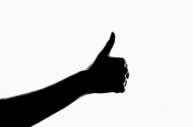 trusted, ok, trust, thumbs-up, arm, shadow