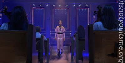 """St. Vincent """"Slow Disco"""" for the Tonight Show with Jimmy Fallon"""