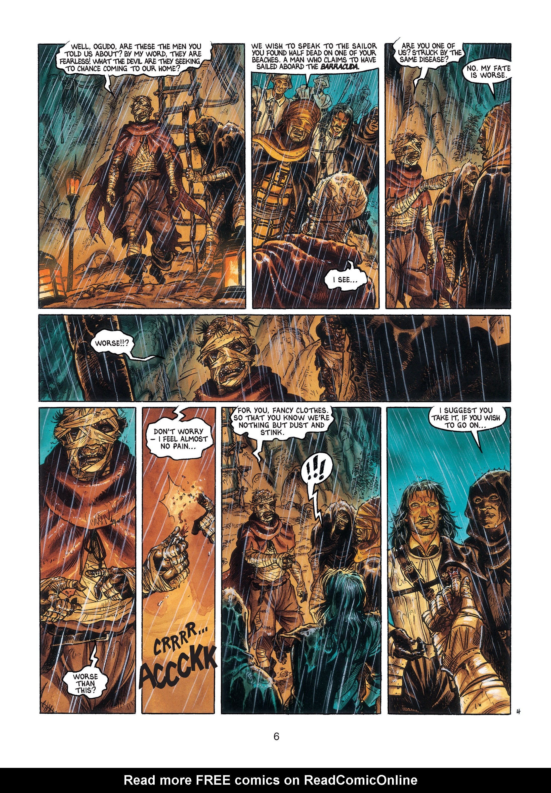 Read online Barracuda comic -  Issue #3 - 7