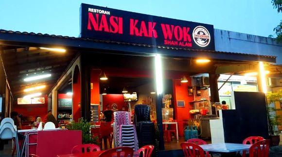 restoran kak wok shah alam