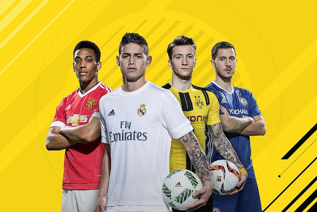 Os melhores jogadores do FIFA 17