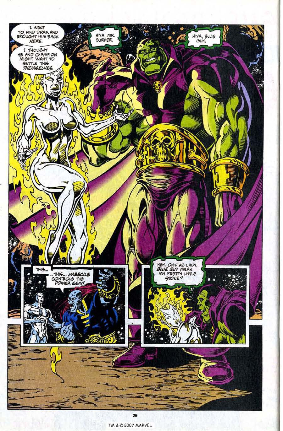 Read online Silver Surfer (1987) comic -  Issue #98 - 28