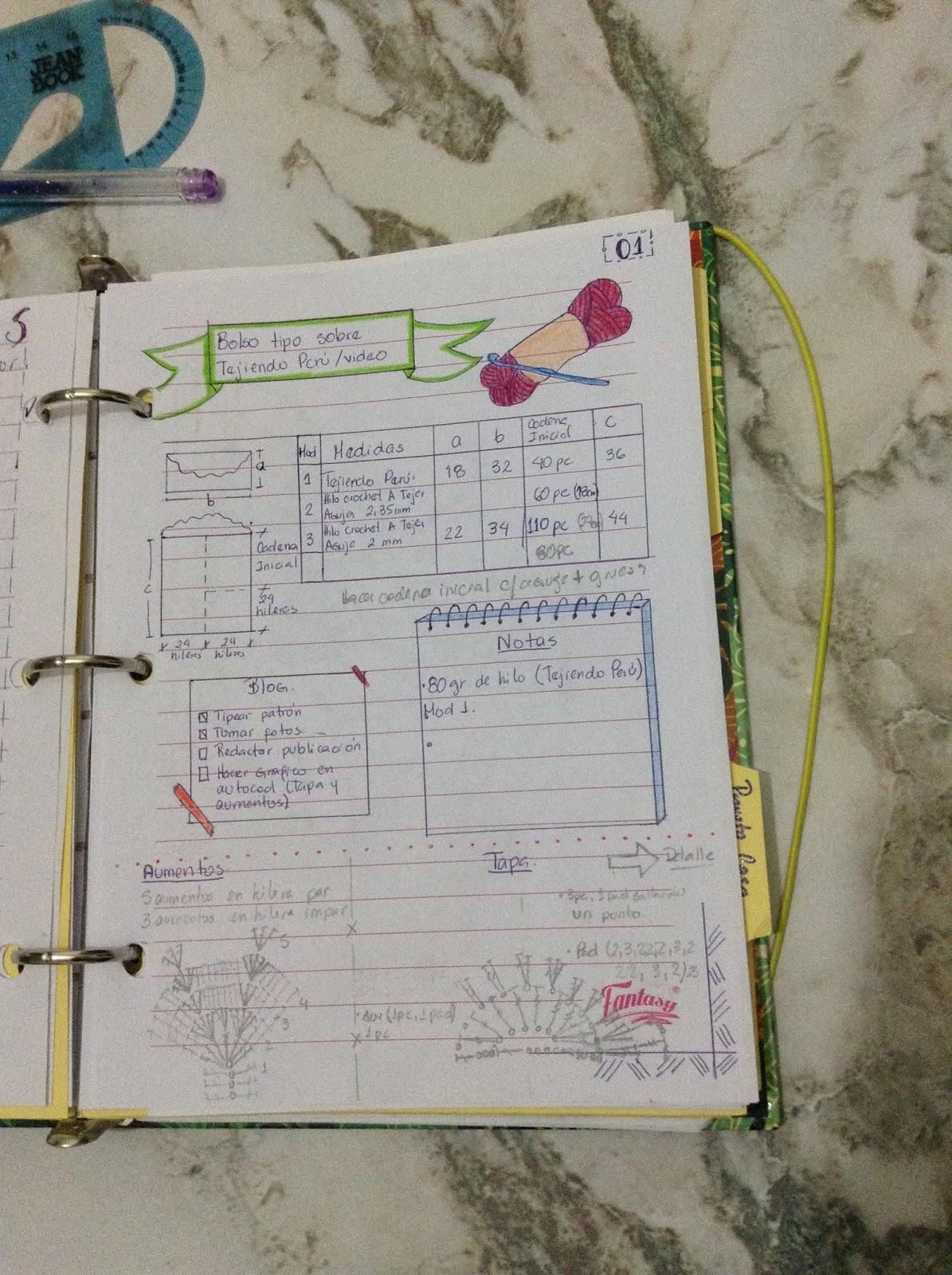 Creaciones Isabelita: Como Hacer un Bullet Journal de Bajo Presupuesto