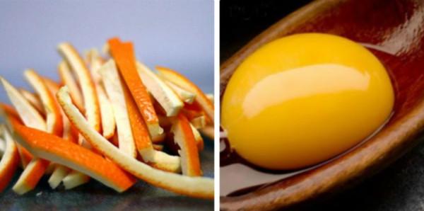 Hỗn hợp vỏ cam với trứng gà chữa trị nám da hiệu quả