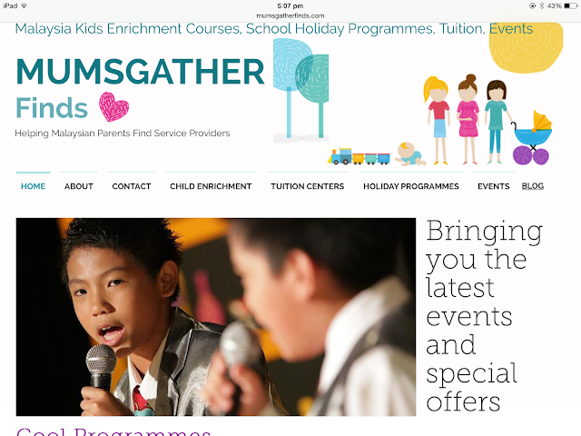 Mumsgather Finds - Helping Malaysian Parents Find Service Providers