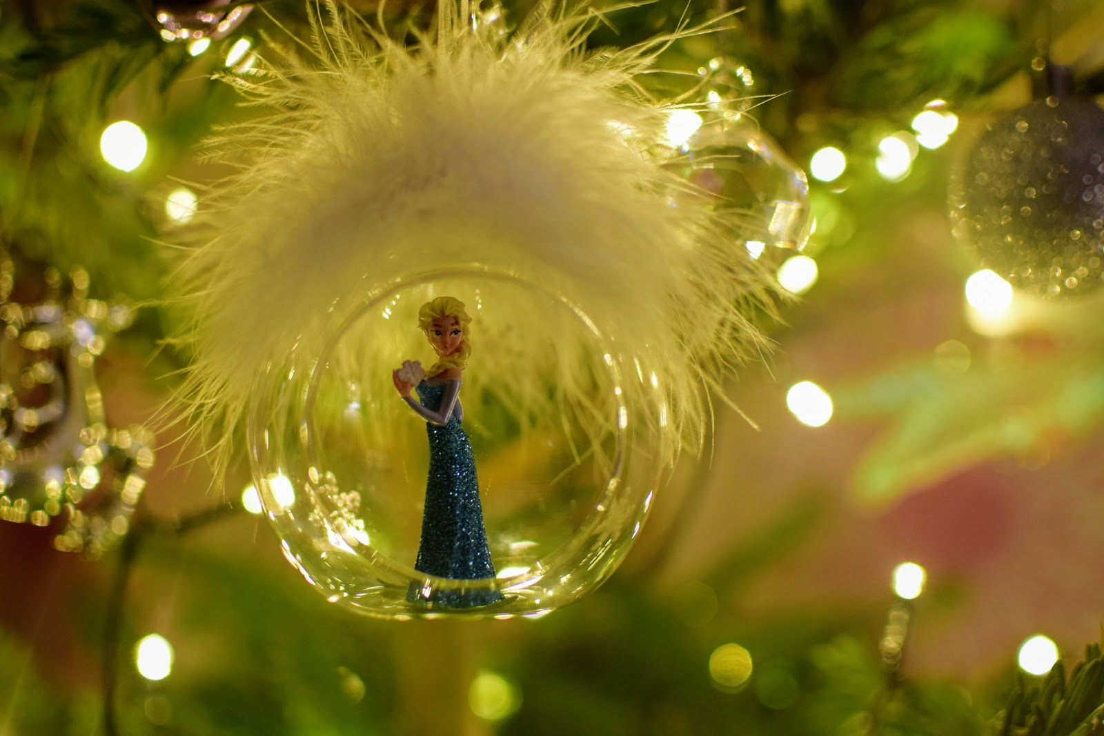 Frozen, Disney, Elsa, Elsa ornament, Disney Christmas, Christmas, Christmas Tree, Pines and Needles, Lifestyle Blogger, Interiors Blogger, Christmas tree Ornaments, ornaments, family, siblings,