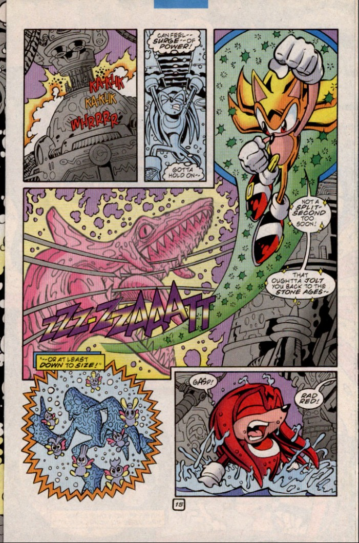 Read online Sonic The Hedgehog comic -  Issue #84 - 15