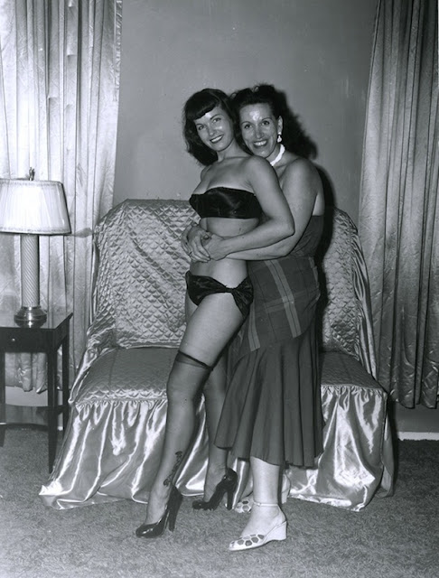 Paula Klaw and Bettie Page - Richard Perez Seves