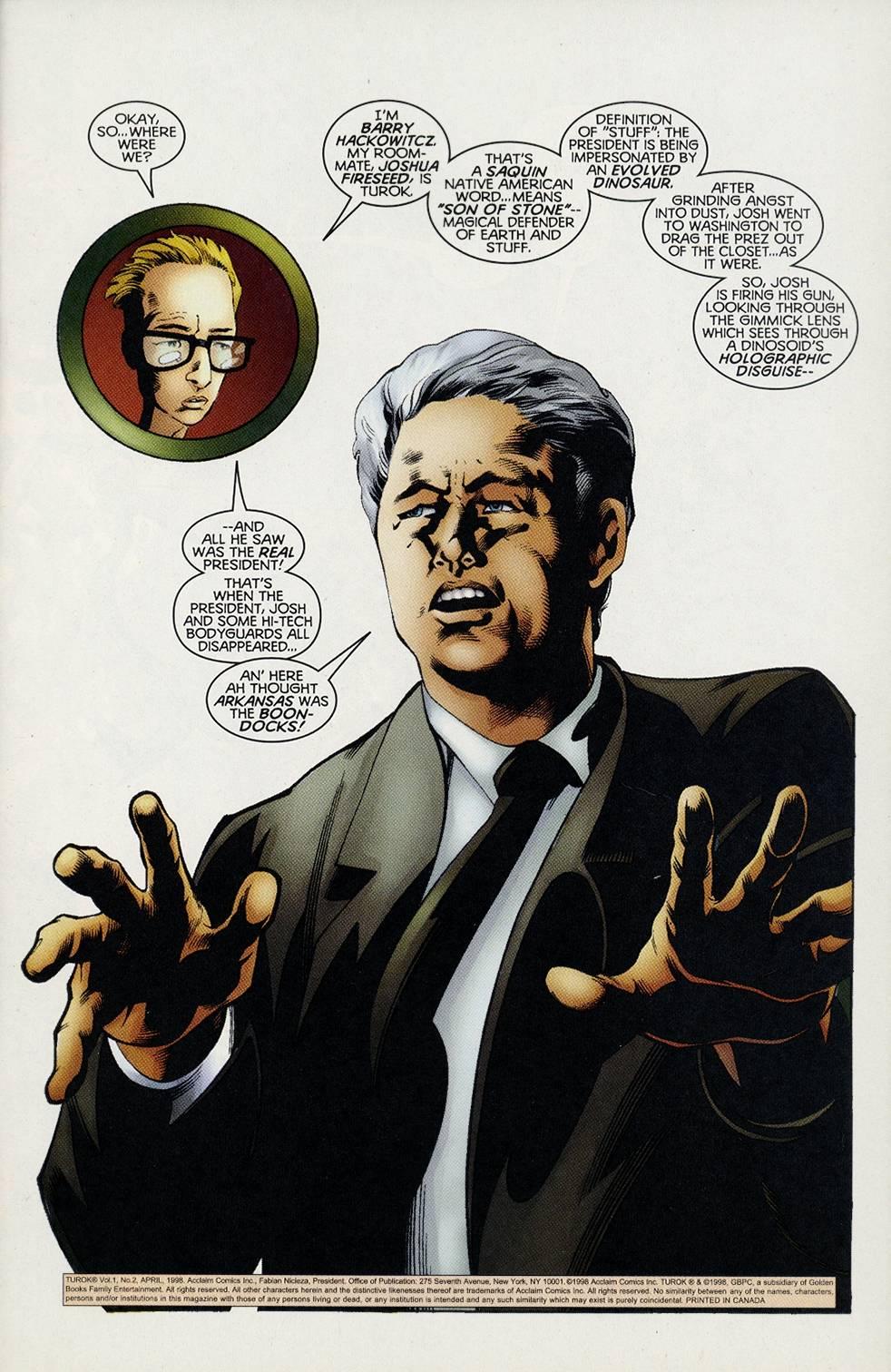 Read online Turok comic -  Issue #2 - 2