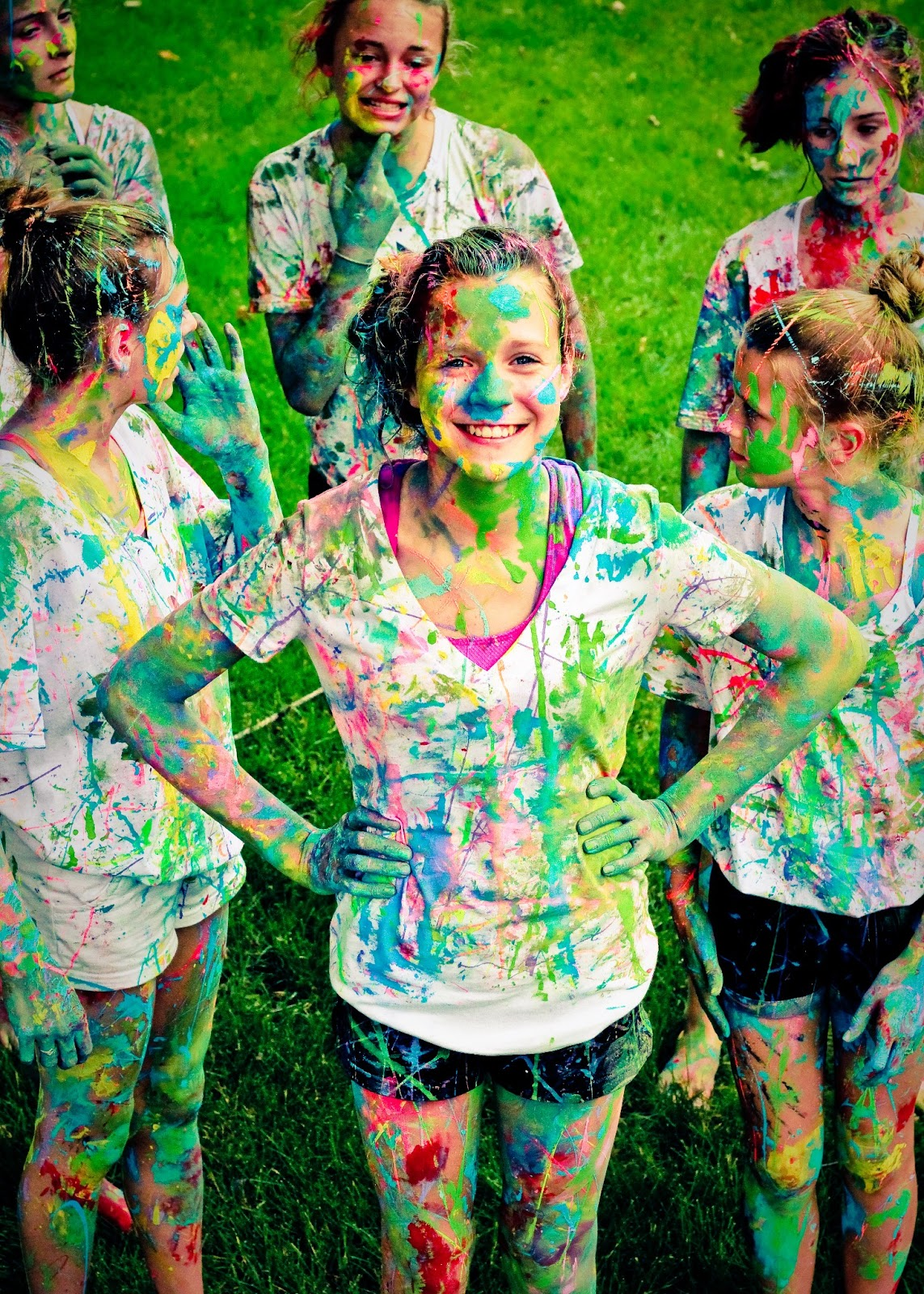 Meagan Dallas Photography: Paint Fight!!