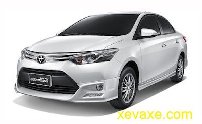 Toyota Vios 2016 lắp động cơ mới giá 16.900 USD