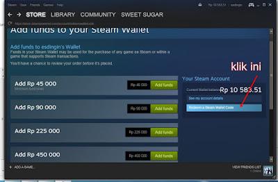 Cara Pembelian Steam Wallet Online Melalui Indomog