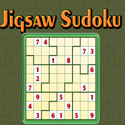Online Jigsaw or Irregular Sudoku