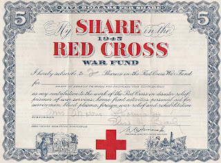 share in the American Red Cross War Fund 1945