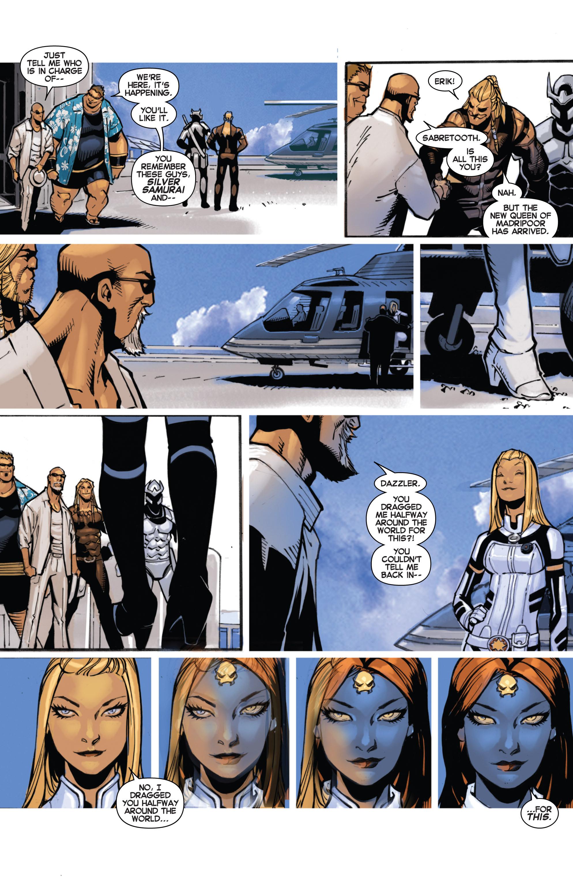 Read online Uncanny X-Men (2013) comic -  Issue #16 - 15