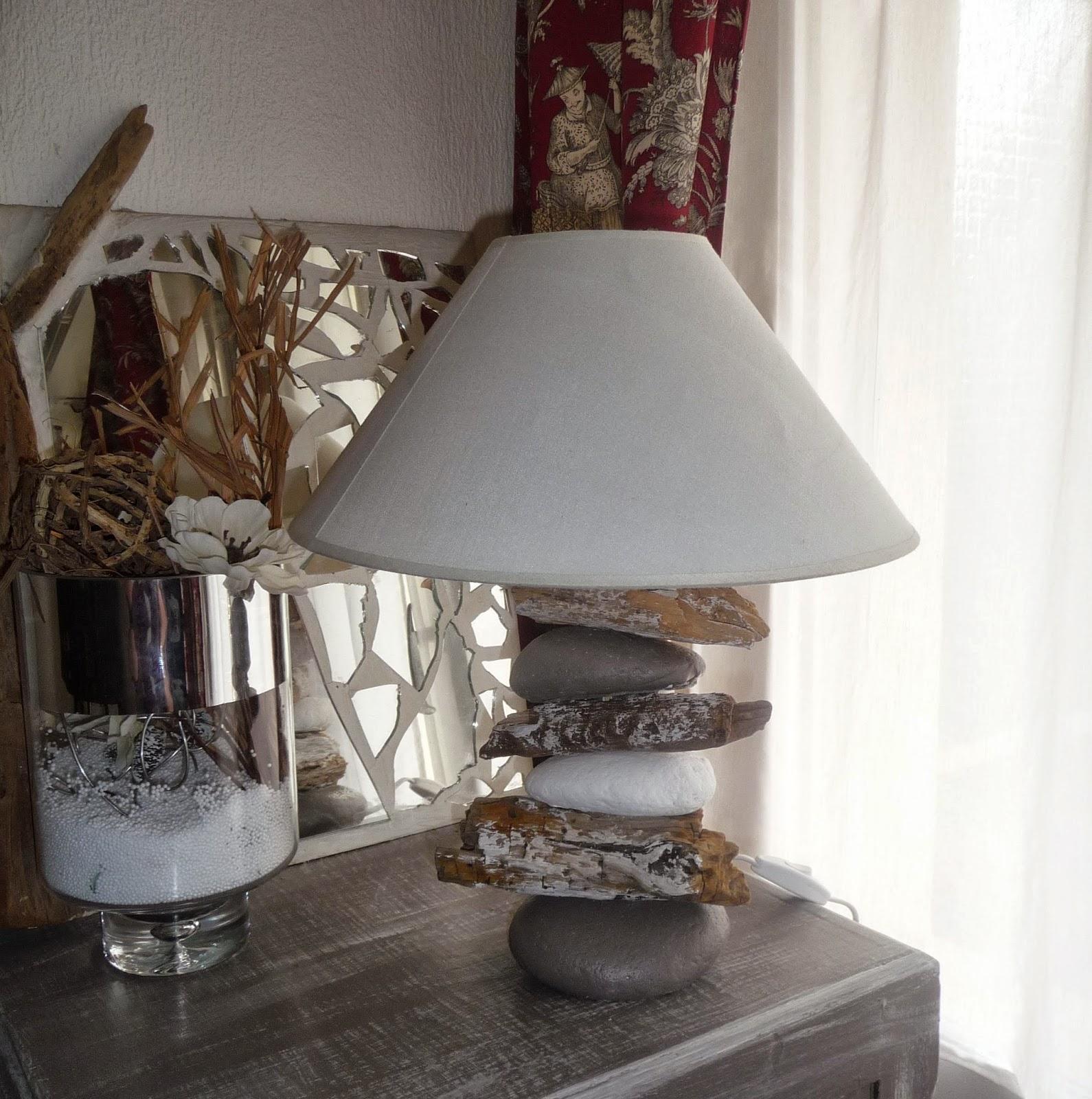 Quelle Colle Utiliser Pour Les Galets cuillère, aiguille et scie sauteuse: lampe galets