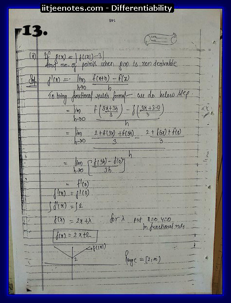 differentiability notes1