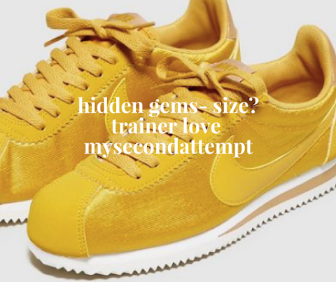 Hidden Gems- Size? Trainer Love