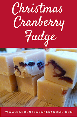 Christmas recipes Cranberry fudge recipes condensed milk
