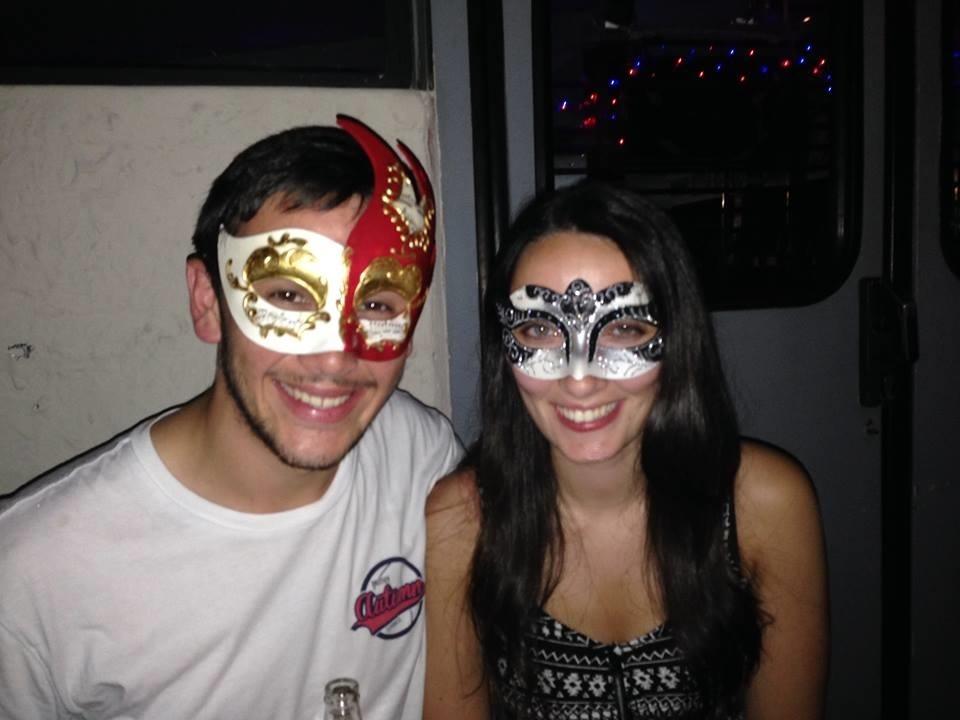 Contiki masquerade Venice