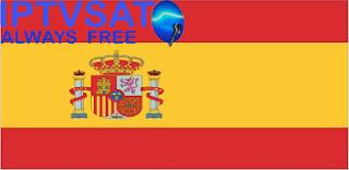 SPAIN IPTV M3U8 LIST DOWNLOAD