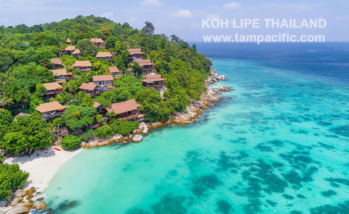 Vị trí địa lý những đảo biển lớn nhỏ thuộc lãnh thổ Thái Lan