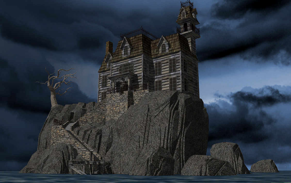 Exterior: SKETCHUP/SCREW-UP: Haunted House Paint Job