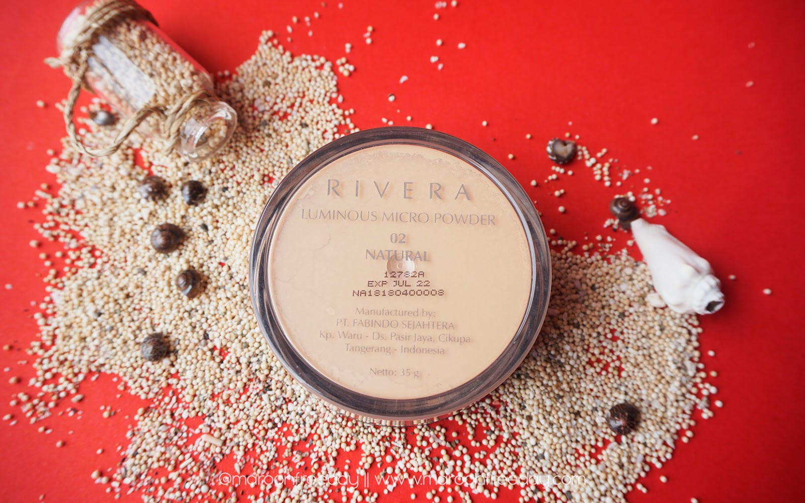 Packaging Rivera Luminous Micro Powder