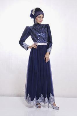 Kumpulan Model Baju Gamis Muslim Modern Cantik Terbaru 2018