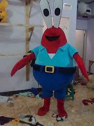 Kostum Mr Krabs