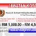 Job Vacancy at MSN - Majlis Sukan Negara Malaysia