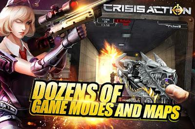 Crisis Action Mod APK+DATA Full Version