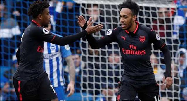 Arsenal Menang 2-1 Atas Brighton & Hove Albion