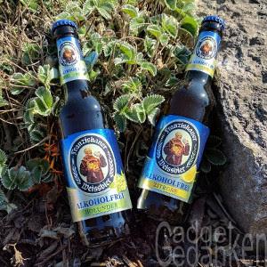Franziskaner Weissbier Holunder und Zitrone