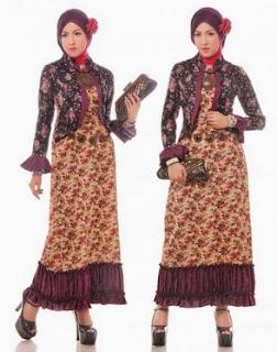 Model Baju Batik Wanita Muslim Untuk Kerja Yang Modis Dan Syar'i