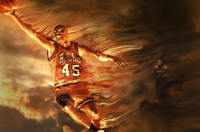 Michael Wong aka MW.416 - NBA Basketball Art