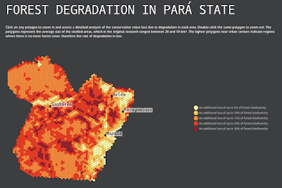 Student work: Visualizing forest loss in the Amazon