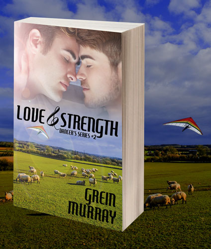 Print Cover Photo, Love & Strength by Grein Murray