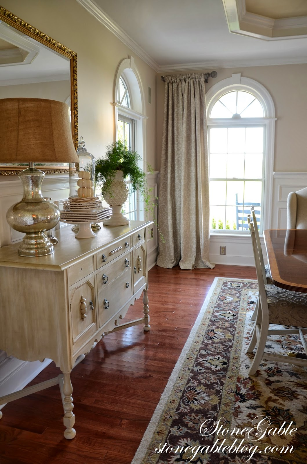DINING ROOM CURTAINS - StoneGable on Farmhouse:-Cra1Rtrksu= Dining Room Curtains  id=95209