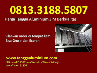 Harga tangga aluminium 3m berkualitas