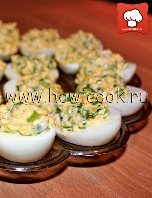 рецепт вкусных фаршированных яиц