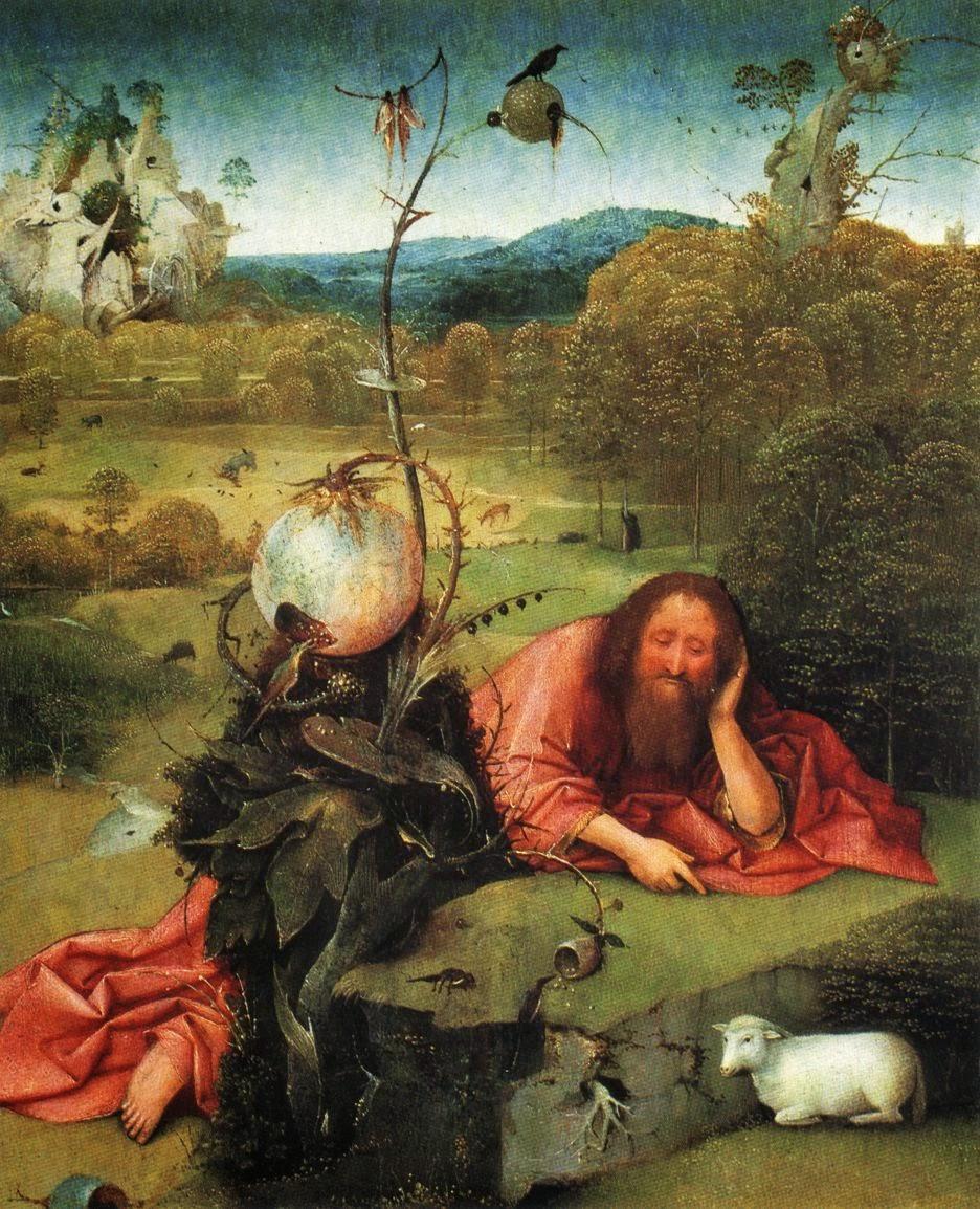 São João Batista no Deserto - Bosch, Hieronymus e suas principais pinturas