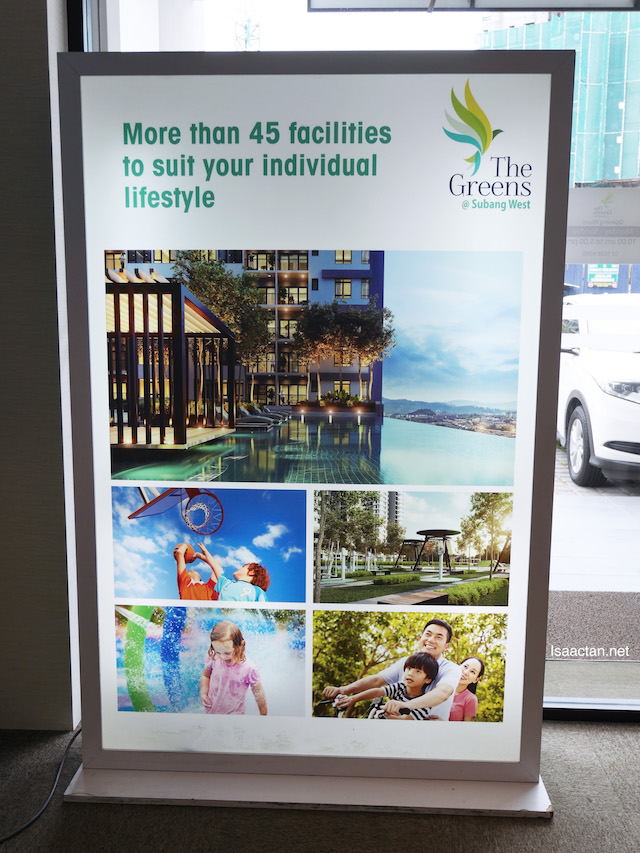 More than 45 facilities to suit your lifestyle