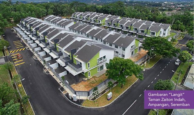 Rumah Mampu Milik Mega3 Housing dan Raya Baiduri