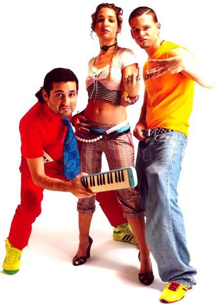 Fotos de Calle 13 posando