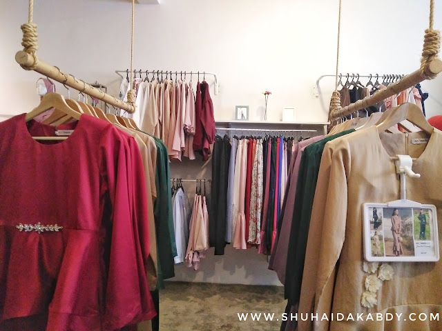 Koleksi Baju Raya di Novembermate Bangi Sentral