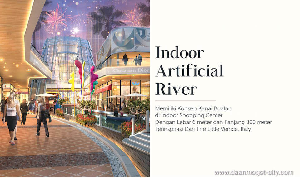 Damoci Mall Indoor Lifestyle River Kanal